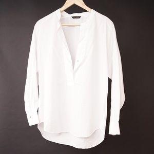 Massimo Dutti // White Tunic Top
